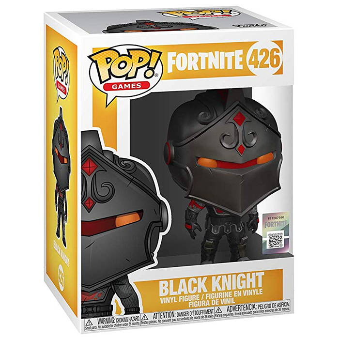 Figura de Funko Pop Black Knight (Fortnite) en su caja