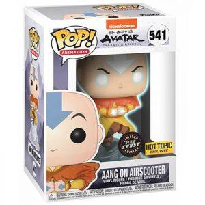 Figura de Aang en Airscooter GID Brilla en la Oscuridad (Avatar: la Leyenda de Aang)