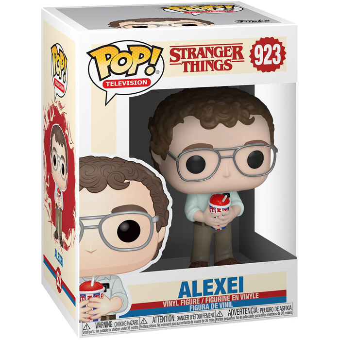 Figura de Alexei (Stranger Things)