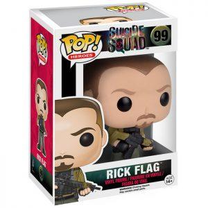Figura de la bandera de Rick (Escuadrón Suicida)