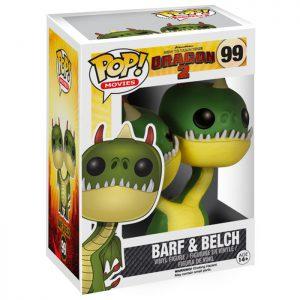 Figura de Barf and Belch (Cómo Entrenar a tu Dragón 2)