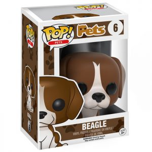 Figura de beagle (Mascotas)