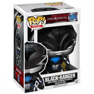 Figura de Black Ranger (Power Rangers 2017)