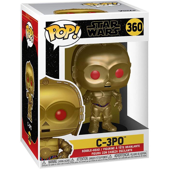 Figura de C3-PO con ojos rojos (Star Wars)