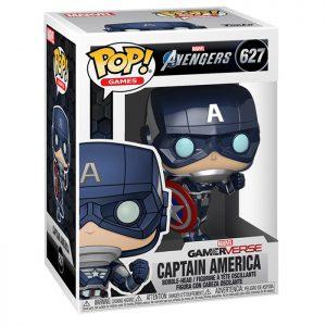 Figura de Capitán América Gamerverse (videojuego de los Vengadores)