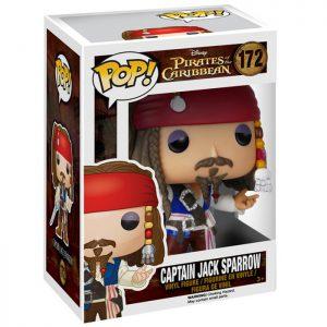 Figura de Capitán Jack Sparrow (Piratas del Caribe)