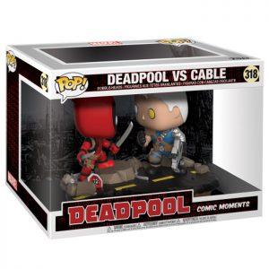 Figura de Comic Moments Deadpool VS Cable (Deadpool)
