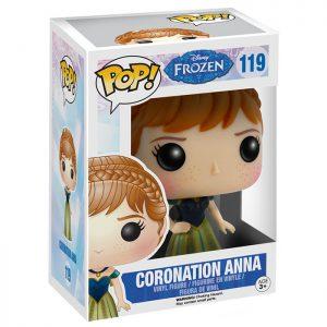 Figura de coronación Anna (Frozen)