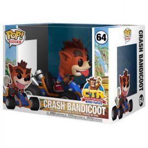 Figura de Crash Bandicoot en kart (Crash Team Racing Nitro Fueled)