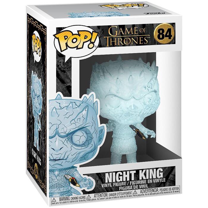 Figura de cristal del Rey Nocturno (Juego de Tronos)
