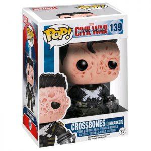 Figura de Crossbones sin la Máscara (Capitán América Civil War)