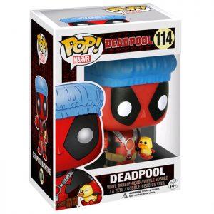 Figura de Deadpool con Gorro de Ducha y Patito (Deadpool)