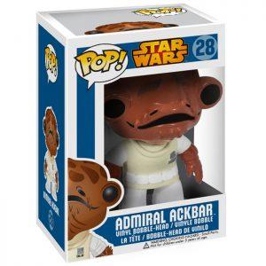 Figura del almirante Ackbar (Star Wars)