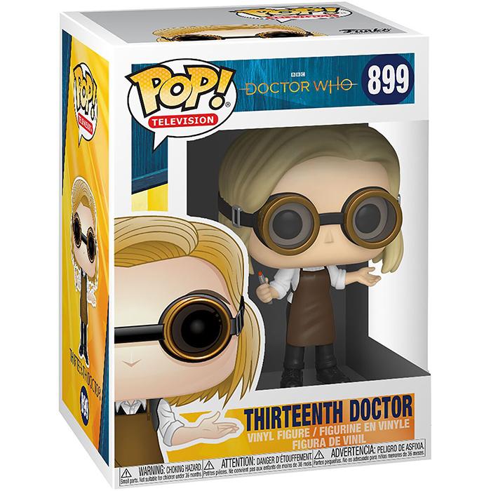 Figura del Decimosegundo Doctor con Gafas (Doctor Who)