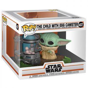 Figura del Niño con Recipiente de Huevos (Star Wars The Mandalorian)
