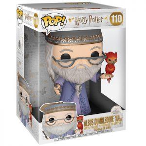 Figura de Dumbledore con Fawkes de gran tamaño (Harry Potter)