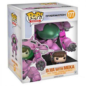 Figura de D.Va con Meka (Overwatch)