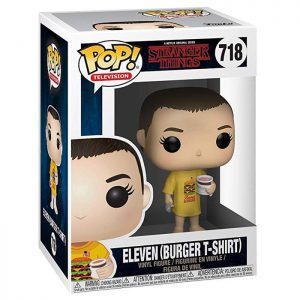 Figura de Eleven con Camiseta de Hamburguesa (Stranger Things)