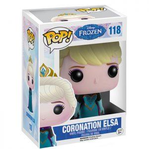Figura de Elsa Coronación (Frozen)