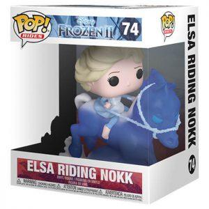 Figura de Elsa montando Nokk (Frozen 2)