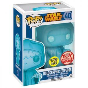 Figura de emperador holográfica (Star Wars)