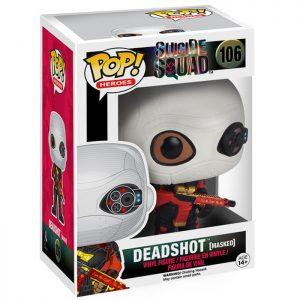 Figura de enmascarada de Deadshot (Escuadrón Suicida)