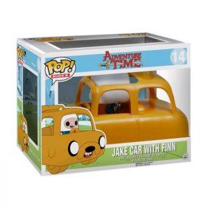 Figura de Finn con el Coche Jake (Hora de Aventuras)
