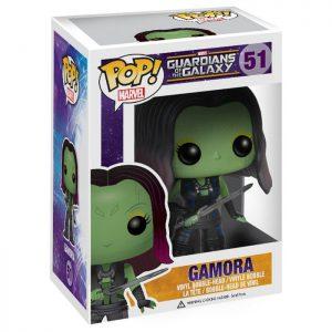 Figura de Gamora (Guardianes de la Galaxia)
