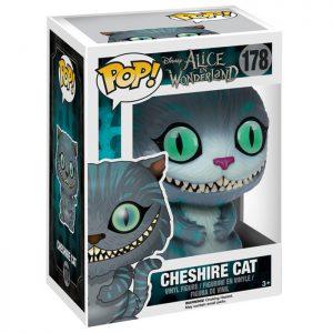 Figura de gato de Cheshire (Alicia en el País de las Maravillas)