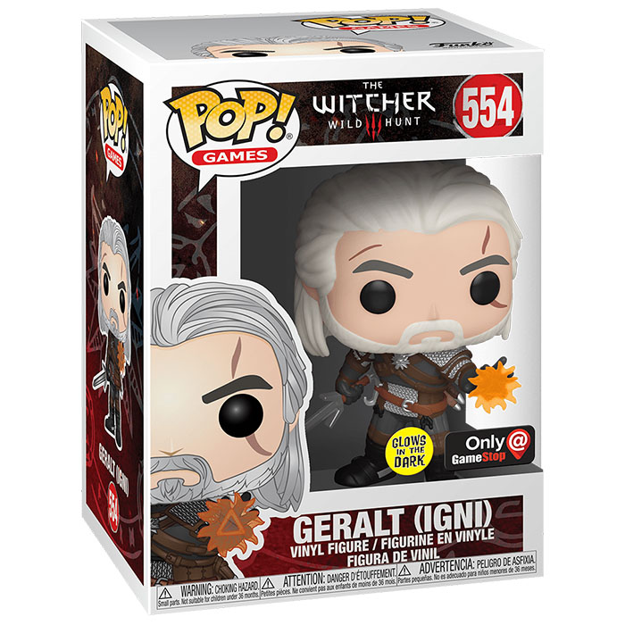 Figura de Geralt Igni (The Witcher)
