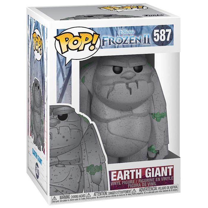 Figura de gigante terrestre (Frozen 2)