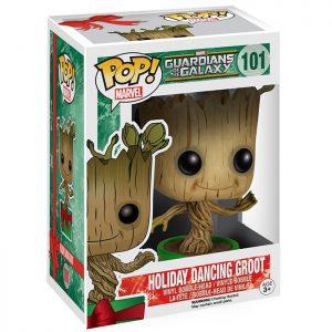 Figura de Groot bailando navideña (Guardianes de la Galaxia)