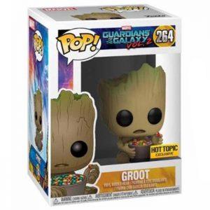 Figura de Groot con caramelo (Guardianes de la Galaxia Vol.2)
