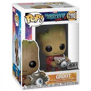 Figura de Groot con Ojo Cibernético (Guardianes de la Galaxia vol. 2)