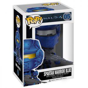 Figura de guerrero espartano azul (Halo 4)