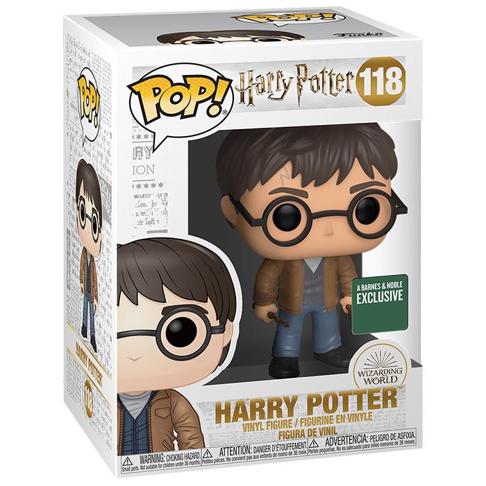 Figura de Harry Potter con dos varitas (Harry Potter)