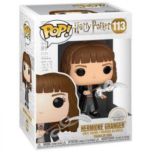 Figura de Hermione Granger con Pluma (Harry Potter)