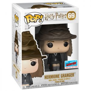 Figura de Hermione con el sombrero seleccionador (Harry Potter)