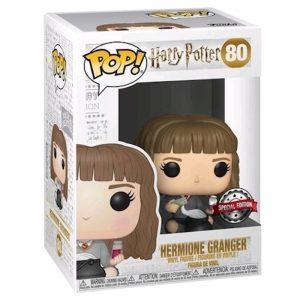 Figura de Hermione con su caldero (Harry Potter)