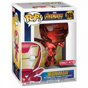 Figura de Iron Man Chrome Red (Vengadores: Infinity War)