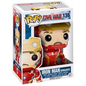 Figura de Iron Man desenmascarado (Capitán América Civil War)