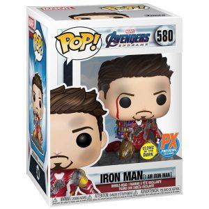Figura de Iron Man con guantelete (Los Vengadores Endgame)