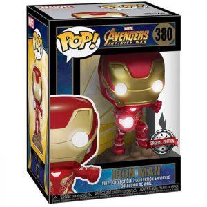 Figura de Iron Man con luces (Vengadores: Infinity War)
