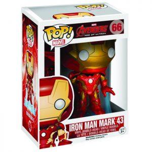 Figura de Iron Man Mark 43 (Vengadores: La Era de Ultrón)