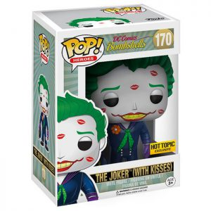 Figura de Joker con besos (DC Comics Bombshells)