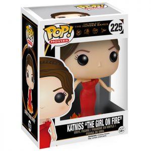 Figura de Katniss La chica en llamas (Los Juegos del Hambre)