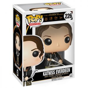 Figura de Katniss Everdeen (Los Juegos del Hambre)