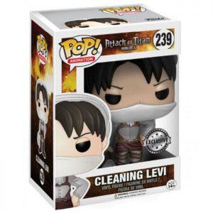 Figura de limpieza de Levi (Ataque a los Titanes)