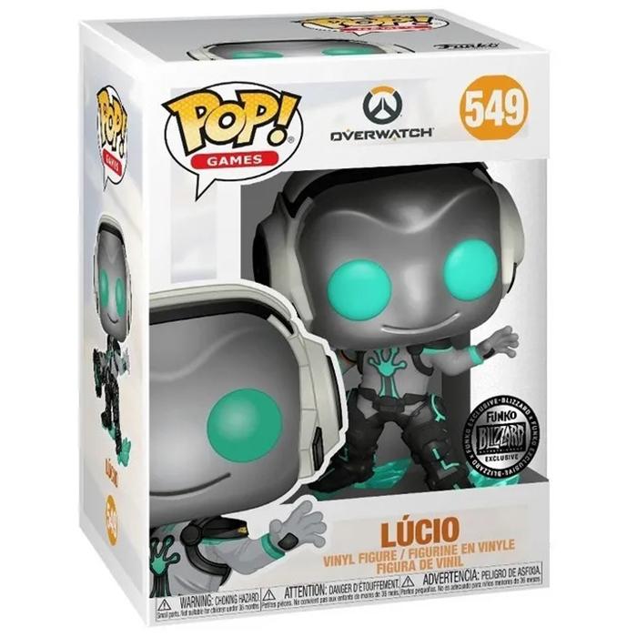 Figura de Lucio Robot (Overwatch)