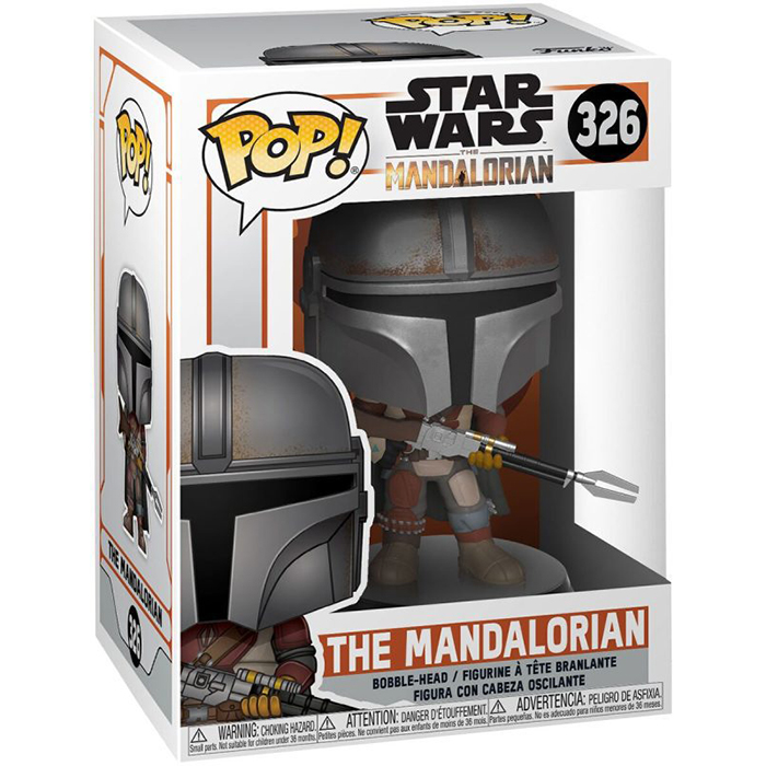 Figura de Mandaloriano (Star Wars The Mandalorian)